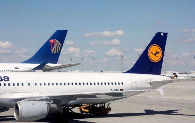 Німецька Lufthansa припиняє літати над Білоруссю