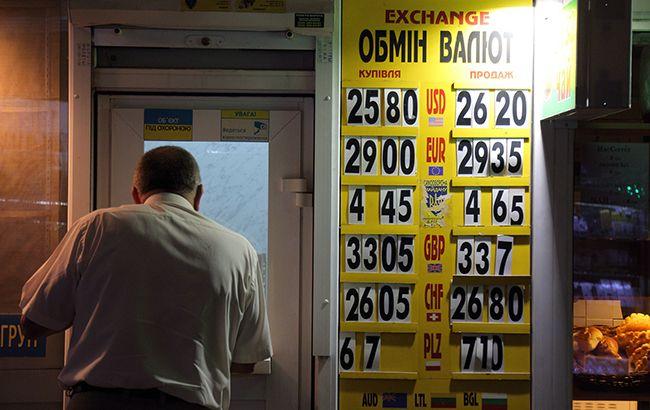Доллар и евро резко снизились на наличном рынке