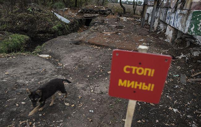 Бойовики мінують райони розведення військ на Донбасі