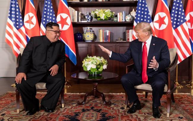 Фото: Ким и Трамп (facebook.com/WhiteHouse)