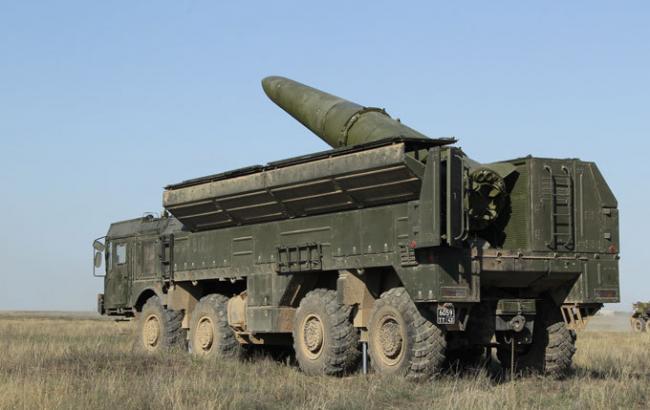 """Фото: ракетний комплекс """"Іскандер"""""""