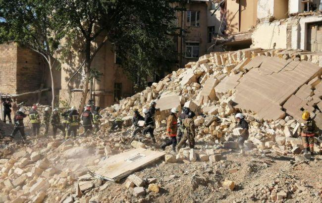 В Одесі завершили розчищення завалів обваленого будинку