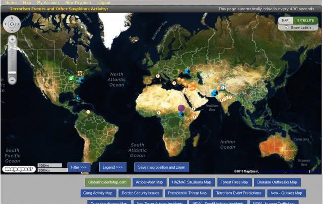 МИД запустил сервис онлайн-мониторинга кризисных явлений для украинцев в путешествиях