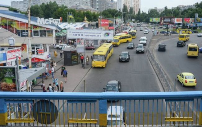 "Фото: возле метро ""Левобережная"" произошло масштабное ДТП"