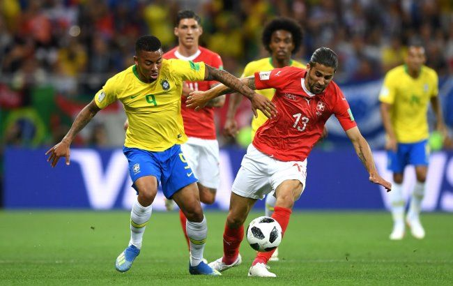 Фото: матч Бразилия-Швейцария (www.facebook.com/fifaworldcup)