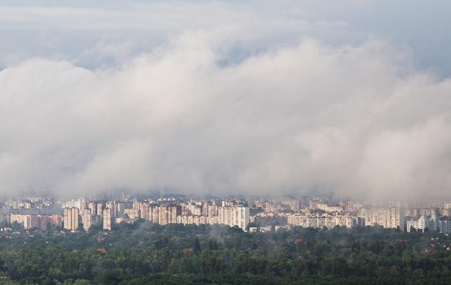 Вгосударстве Украина переменная облачность, кое-где дожди сгрозами, температура до +26