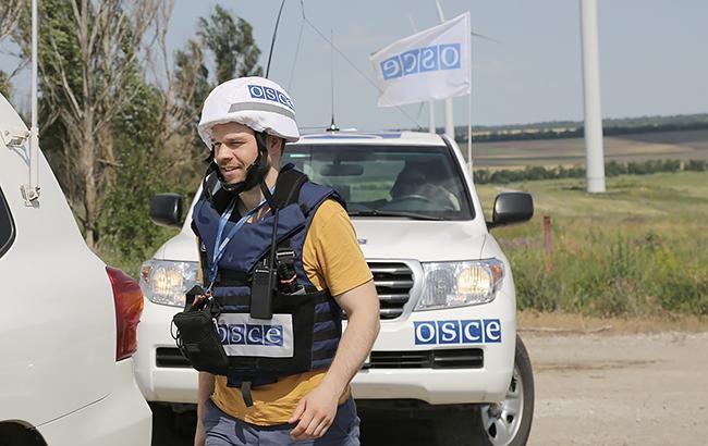 У Донецькій області патруль місії ОБСЄ потрапив в аварію