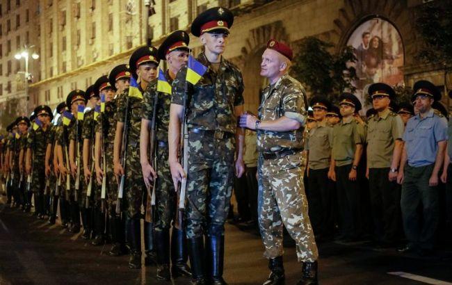 Фото: репетиції параду пройдуть на Хрещатику