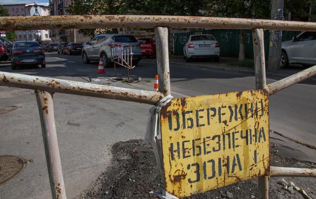 """""""Очевидное нарушение норм!"""": инженер откровенно оценила качество ремонта дорог в Киеве"""