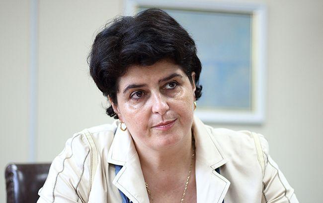 Директор ГЭЦ Минздрава Татьяна Думенко отметила, что в Украине дефицит инновационных лекарств (фото Виталий Носач, РБК-Украина)