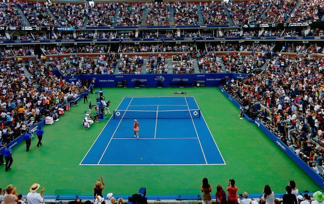 Фото: тенісний корт US Open (facebook.com/usopentennis)