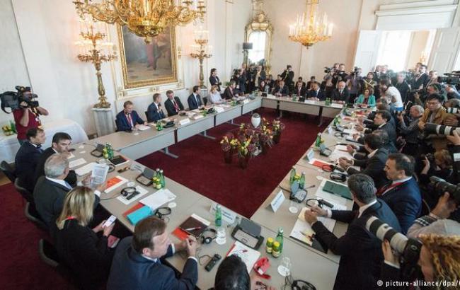 Фото: саммит по миграции в Вене