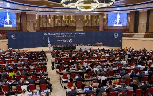 Фото: встреча по климату в Руанде