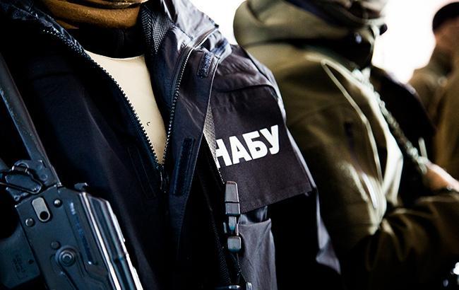 Среди задержанных НАБУ лиц есть бывший глава АМПУ Андрей Амелин (Фото: twitter.com/nab_ukr)