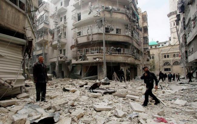 Фото: підконтрольний сирійській опозиції Алеппо