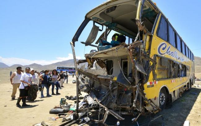 Фото: ДТП в Перу