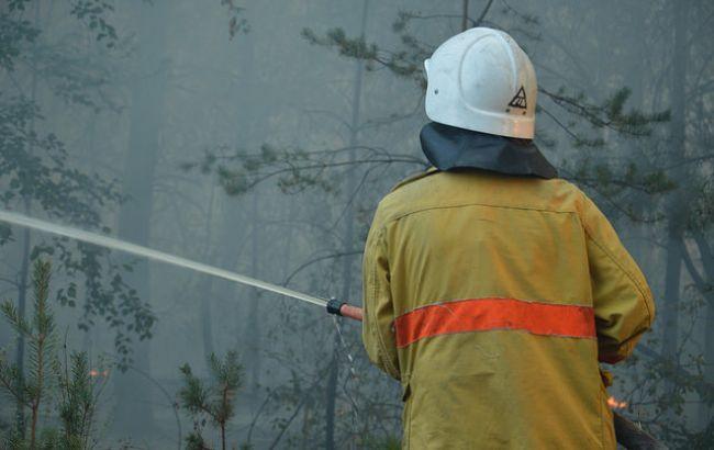 За прошедшие сутки в Украине произошло 222 возгорания на открытых территориях