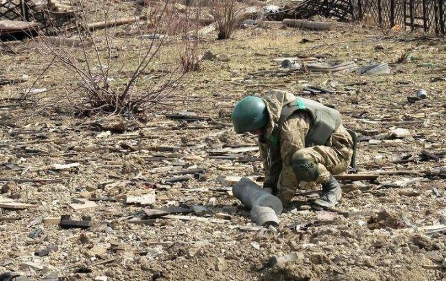 Сапери ВСУ почали розмінування боєприпасів у Балаклії