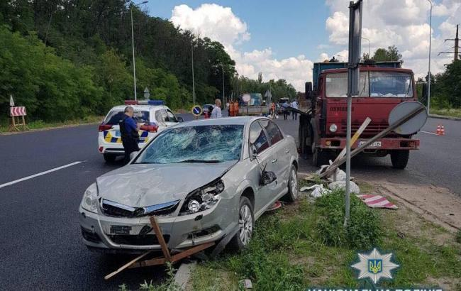 У Київській області у результаті ДТП загинув працівник дорожньої служби