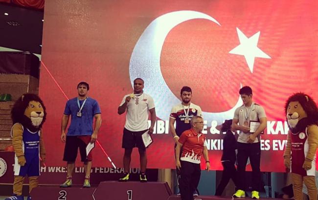 Українець Беленюк виграв міжнародний турнір з боротьби в Туреччині