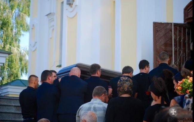 Фото: церемонія прощання з Ігорем Єремєєвим