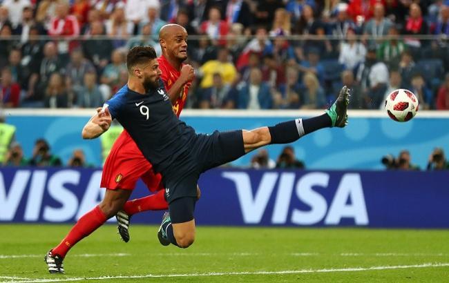 Франция - Бельгия: видео голов и обзор матча