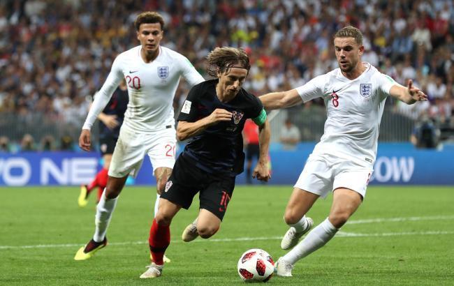 Фото: матч Хорватія - Англія (facebook.com/fifaworldcup)