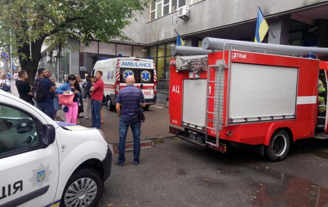 Фото: в Киеве заминировали КААС (facebook.com/appeal.administrative.court)