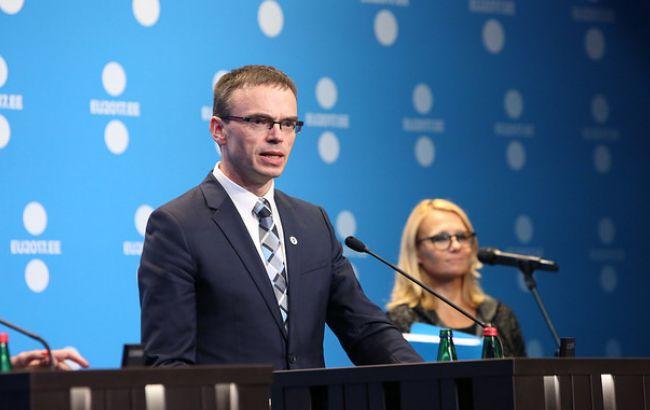 Естонія має намір реалізувати з Україною проекти з електронного урядування та безпеки