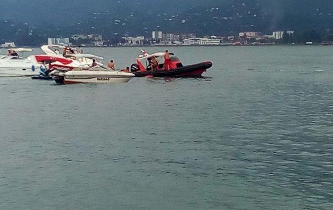 В Грузии в море упал дельтаплан с гражданином Украины