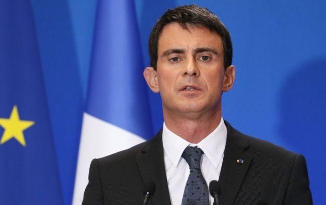 Фото: прем'єр-міністр Франції Мануель Вальс