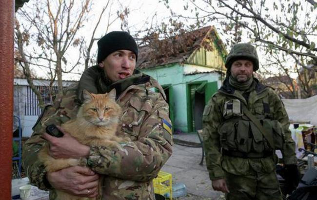 Фото: Бойцы АТО (РИА Новости Украина)