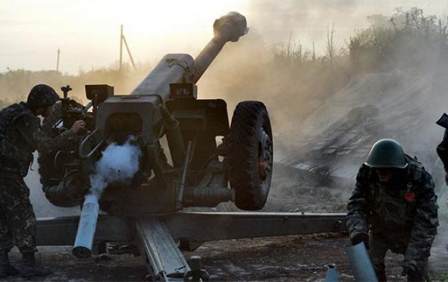 Бойовики за день 12 разів обстріляли позиції сил АТО, - штаб