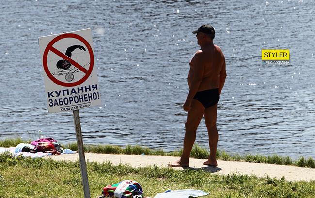 Купаться опасно: на пяти киевских пляжах обнаружили кишечную палочку
