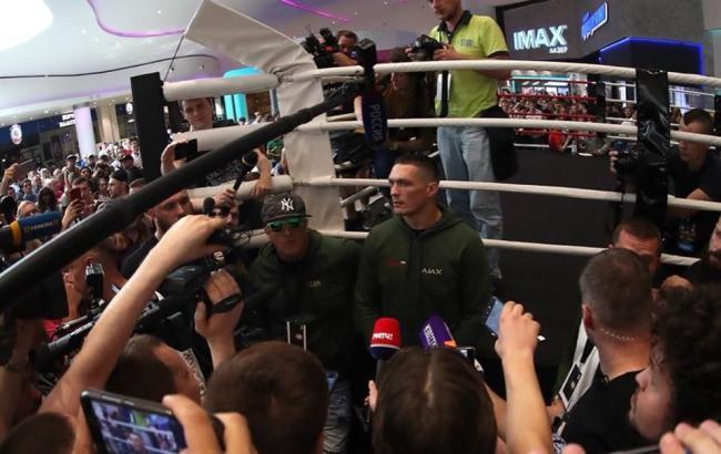 Усик - Гассієв: де дивитися бій