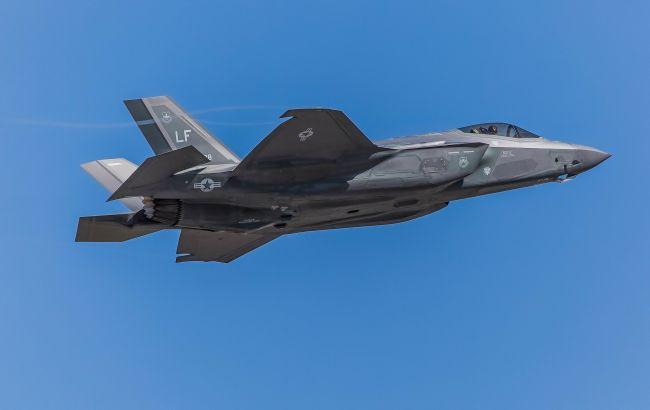 У США на авіабазі розбився винищувач F-35A
