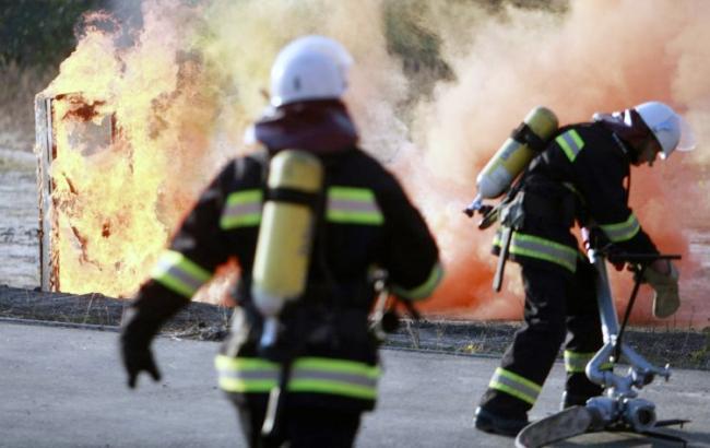 Полиция открыла дело по факту пожара в Херсоне