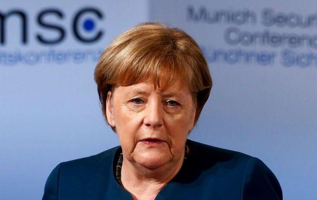 Фото: Ангела Меркель на Мюнхенской конференции-2017