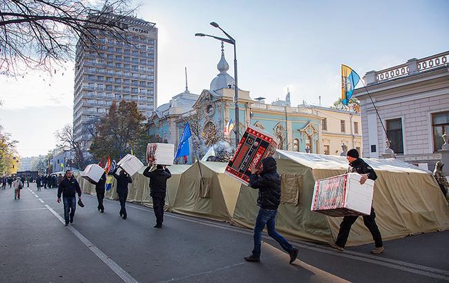 Два табори під Радою: чи будуть продовжуватися протести Саакашвілі і військових