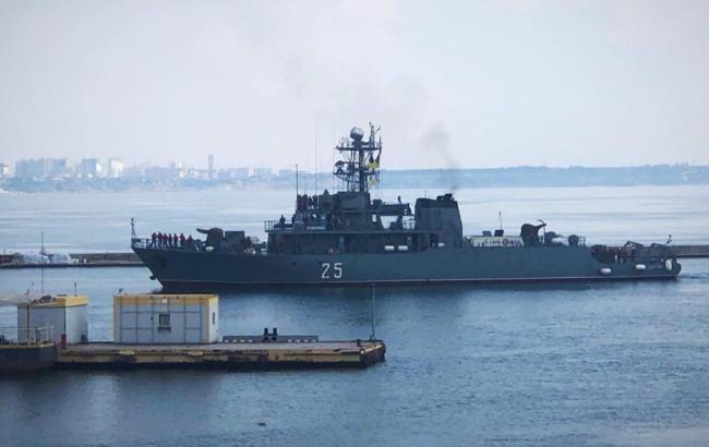 До Одесси прибули кораблі країн НАТО