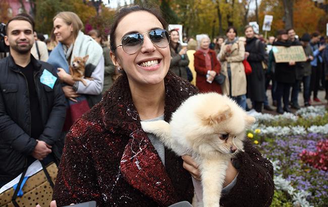 Джамала появилась на масштабном Марше за права животных в Киеве