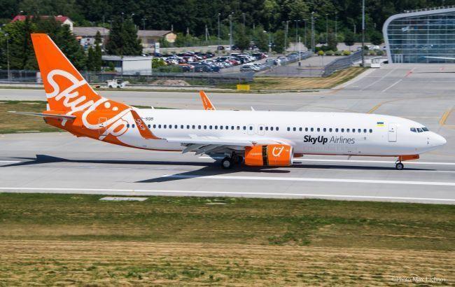 У SkyUp повідомили про затримку восьми рейсів з технічних причин