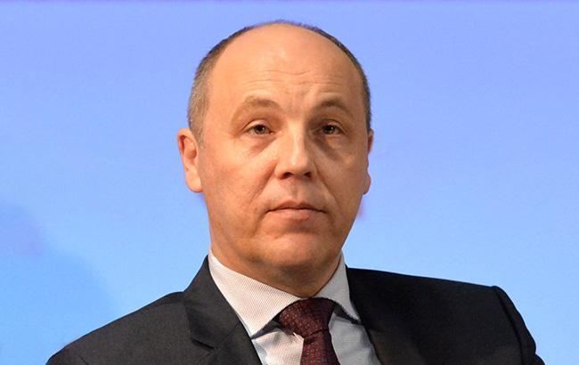 Фото: Андрей Парубий, председатель Верховной рады Украины (rada.gov.ua)