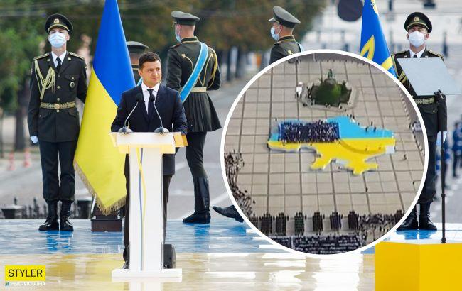 Навколо концерту до Дня Незалежності новий скандал: причина - синьо-жовта сцена