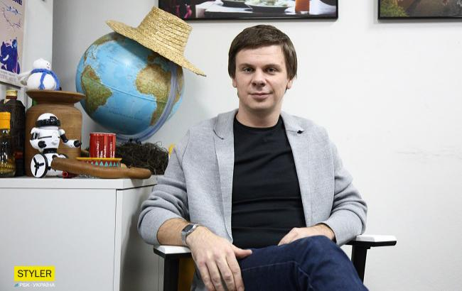 Телеведучий Дмитро Комаров (фото: РБК-Україна)