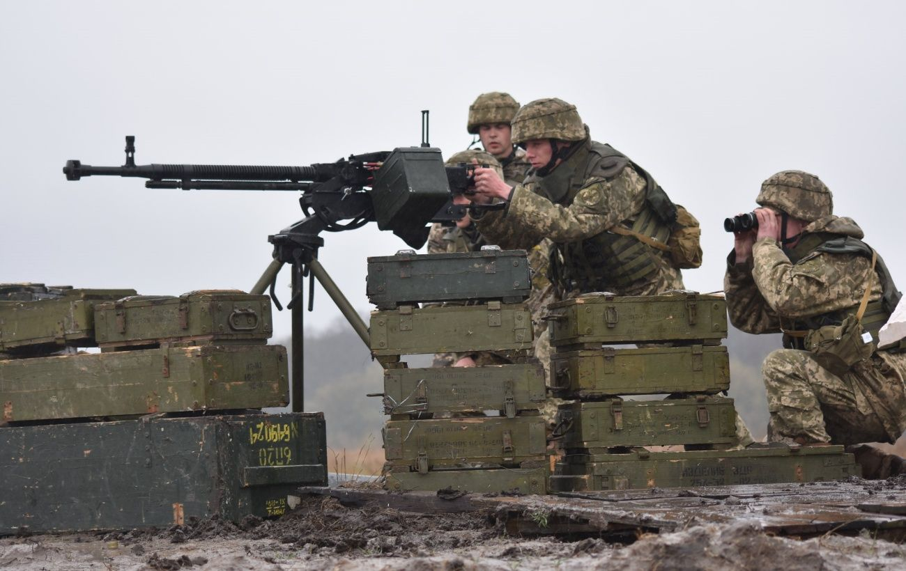 Вблизи Авдеевки украинских военных обстреляли из минометов