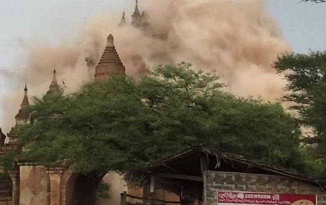 Фото: землетрус в М'янмі