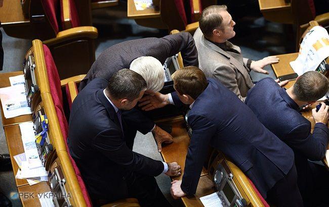Рада почне розгляд закону про деокупацію Донбасу в січні, - Парубій
