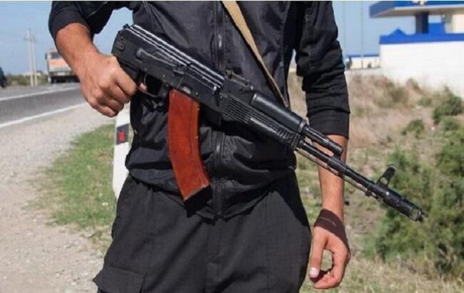 Фото: нападение в Алматы