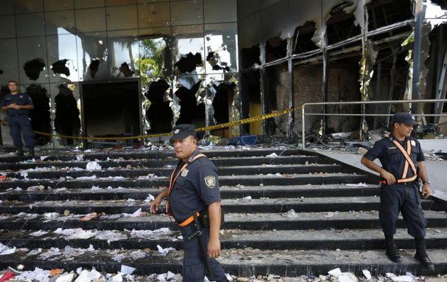 В Парагвае после беспорядков уволен министр внутренних дел и шеф полиции